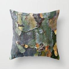 Wood 's Throw Pillow