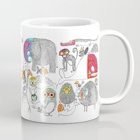 Animales Luchadores Mug
