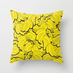 TOTALLY BANANAS Throw Pillow
