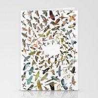 birds Stationery Cards featuring Birds by Ben Giles
