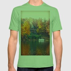 House On The Lake Mens Fitted Tee Grass SMALL