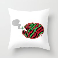 The High End Theory Throw Pillow