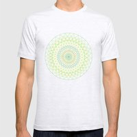 Spring Sun Mens Fitted Tee Ash Grey SMALL