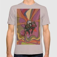 Brushmask Mens Fitted Tee Cinder SMALL