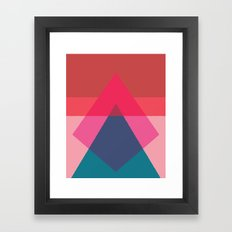 Cacho Shapes LXV Framed Art Print