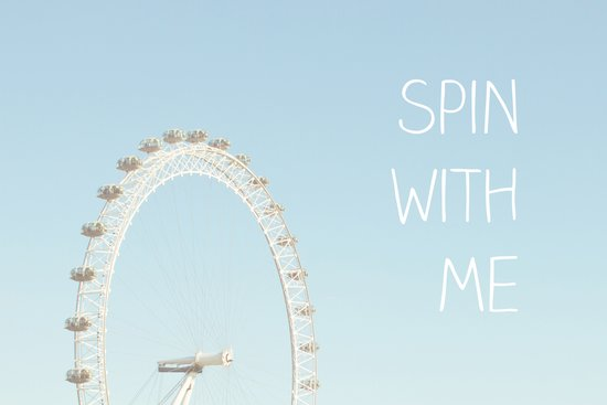 Spin with me Art Print