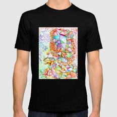 City of Glass Mens Fitted Tee Black SMALL