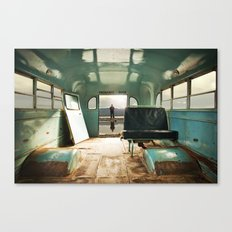 Emergency Door Canvas Print