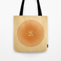 Lotus / Namaste  Tote Bag