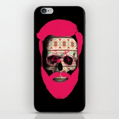 THE AUTUMN BIKER iPhone & iPod Skin