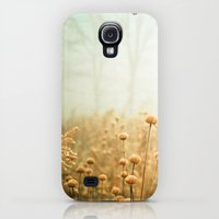 Galaxy S4 Cases featuring Daybreak in the Meadow by Olivia Joy StClaire