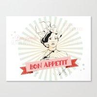 Bon Appetite Canvas Print