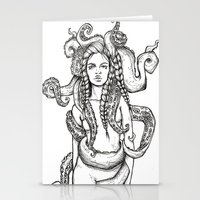 Tentacles Stationery Cards