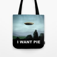 I Want Pie Tote Bag