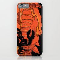 iPhone & iPod Case featuring The Beast of Shadow Valley by WanderingBert / David Creighton-Pester