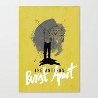 Burst Apart Canvas Print