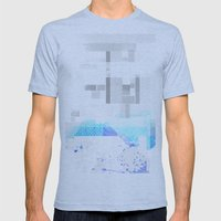 Fog Mens Fitted Tee Athletic Blue SMALL