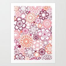 BOLD & BEAUTIFUL girlie Art Print