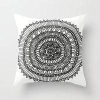 Mandala 2 Throw Pillow