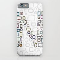 letter N - nailed frames iPhone 6 Slim Case