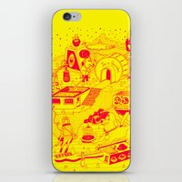 EL TANQUE CARCEDO iPhone & iPod Skin