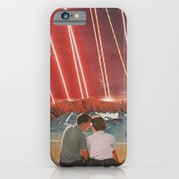 iPhone & iPod Case featuring Lazers  by Sarah Eisenlohr
