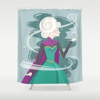 QUEEN ELSA Shower Curtain