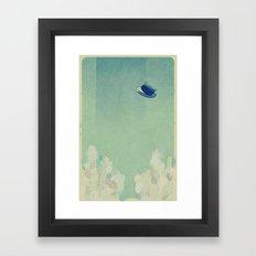 Upper Framed Art Print