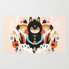 Rainbow Queen Rug