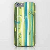Woodland Stripe iPhone 6 Slim Case