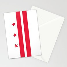 Flag of Washington D.C - Authentic High Quality image Stationery Cards