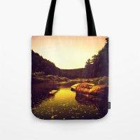 Let The Creek Take You A… Tote Bag
