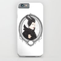 iPhone & iPod Case featuring Maleficent by Eltina Giannopoulou