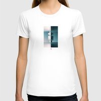 Sides Womens Fitted Tee White SMALL