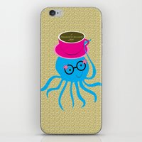 Hipster Octopus 2016 iPhone & iPod Skin
