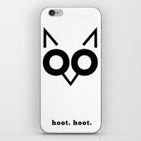 Hoot Hoot iPhone & iPod Skin