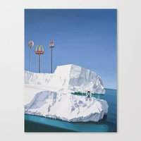 The Iceberg Canvas Print