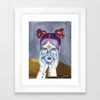 Close Up 8 Framed Art Print