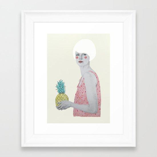 Ana Framed Art Print