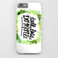 iPhone & iPod Case featuring Talk Less, Do More. by Jenna Freimuth