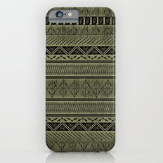 Harry Tribal Print Potter - Hallows Yellow iPhone 6 Slim Case