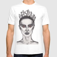 Natalie Portman - Black Swan Mens Fitted Tee SMALL White