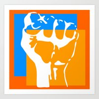 fight the power Art Print