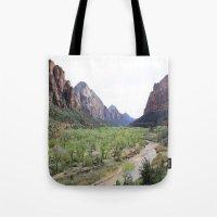 The Virgin River Tote Bag