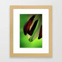 Moving closeup Framed Art Print