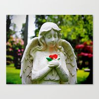 Canvas Print featuring Close to the heart by Vorona Photography