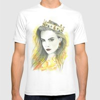 Zodiac - Leo Mens Fitted Tee White SMALL