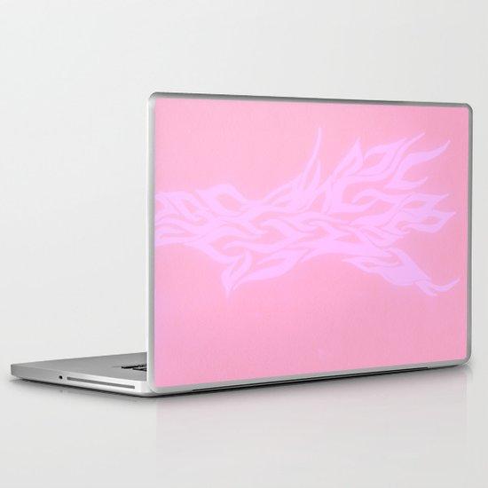 pink fire Laptop & iPad Skin
