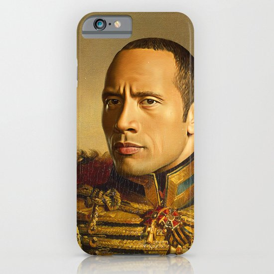 Dwayne (The Rock) Johnson - replaceface iPhone & iPod Case