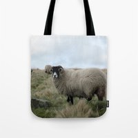 Yorkshire Dalesbred Sheep Tote Bag
